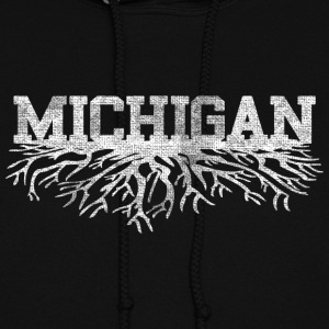 Michigan Rooted Roots Raised Hoodies - Women's Hoodie