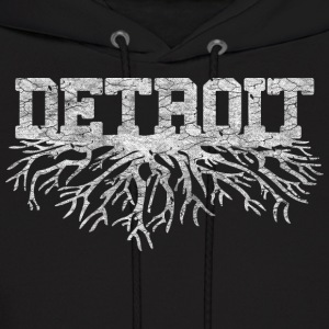 My Detroit Roots Rooted Michigan Hoodies - Men's Hoodie