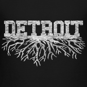 My Detroit Roots Rooted Michigan Kids' Shirts - Kids' Premium T-Shirt