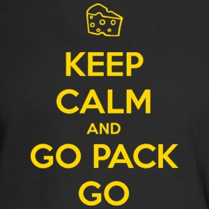 Keep Calm and Go Pack Go Wisconsin Packers Long Sleeve Shirts - Men's Long Sleeve T-Shirt