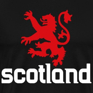 Scotland Lion UK Scottish T-Shirts - Men's Premium T-Shirt
