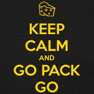 Keep Calm and Go Pack Go Wisconsin Packers Women's T-Shirts - Women's T-Shirt