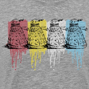 color dalek by kam T-Shirts - Men's Premium T-Shirt