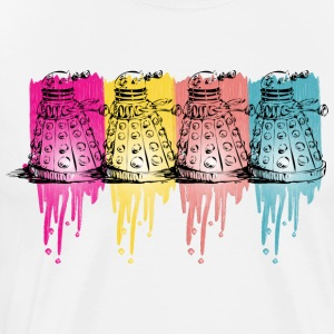 color dalek T-Shirts - Men's Premium T-Shirt