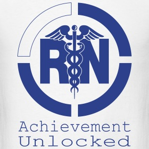 RN Achievement Unlocked T-Shirts - Men's T-Shirt