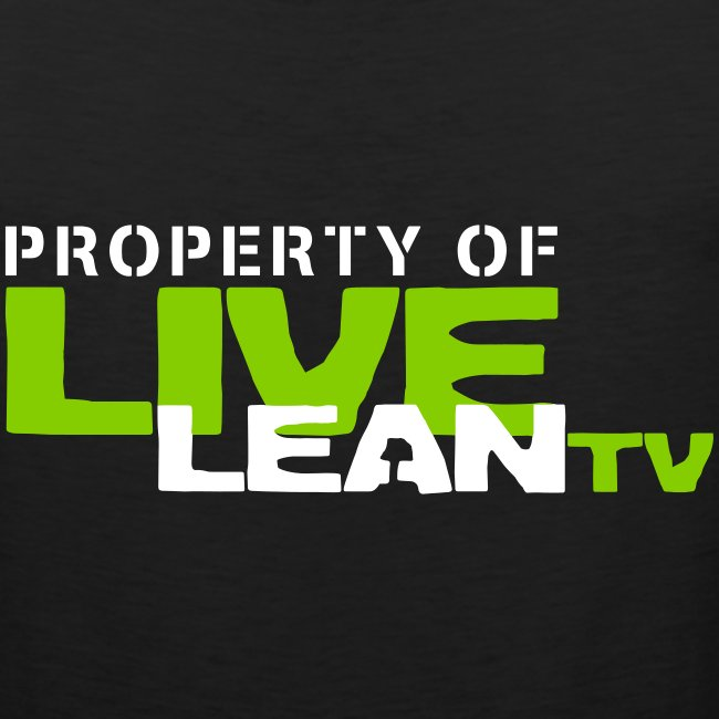 Property of Live Lean TV Men's Muscle Tank
