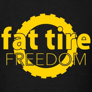 Fat Tire Freedom T-Shirts - Men's T-Shirt