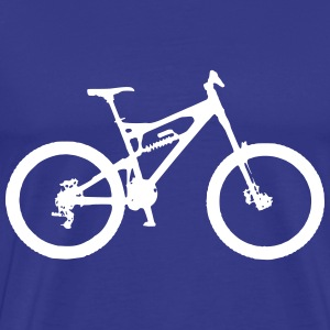 Full Suspension Mountain Bike T-Shirts - Men's Premium T-Shirt