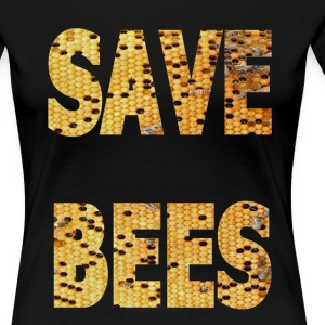 SAVE BEES DESIGN - Women's Premium T-Shirt