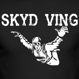 Skyd Ving Skydiving - Men's Long Sleeve T-Shirt by Next Level
