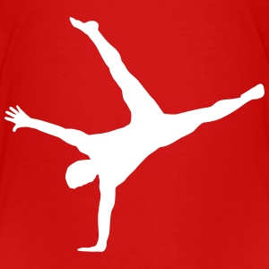 Gymnast, Gymnastics - Breakdance Baby & Toddler Shirts - Toddler Premium T-Shirt