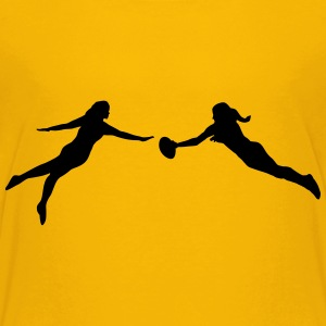 Ultimate Frisbee women Kids' Shirts - Kids' Premium T-Shirt