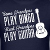 Some Grandpas Play Bingo Real Grandpas Play Guitar - Men's T-Shirt
