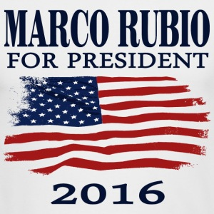 Marco Rubio for president 2016  t-shirt Long Sleeve Shirts - Men's Long Sleeve T-Shirt by Next Level