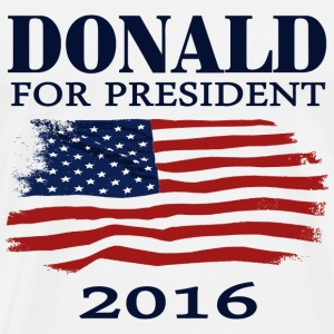 Trump Shirts, Donald Trump for president 2016  t-shirt T-Shirts - Men's Premium T-Shirt