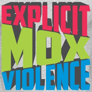 EXPLICIT MOX VIOLENCE Long Sleeve Shirts - Men's Long Sleeve T-Shirt by Next Level