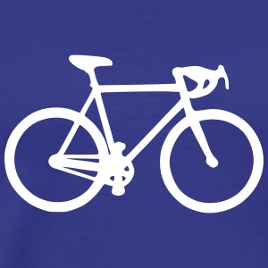 Road Bike T-Shirts - Men's Premium T-Shirt