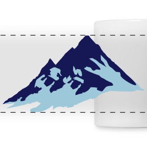 Mountains Accessories - Panoramic Mug