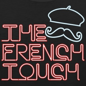The French Touch Neon Tank Tops - Men's Premium Tank