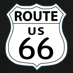 Route 66 Sign T-Shirts - Men's Premium T-Shirt