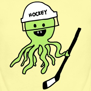 Hockey Octopus Baby   - Short Sleeve Baby Bodysuit