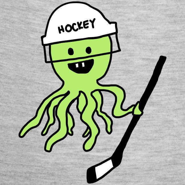 Hockey Octopus Baby   Contrast