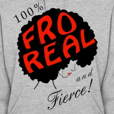 I am Fro Real Hoodie