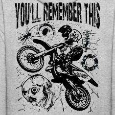 Remember Motocross Hoodies