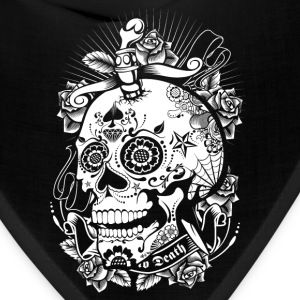 Sugar Skull of Death Caps - Bandana