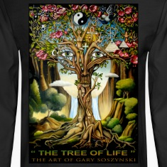 """ THE TREE OF LIFE ""  mens long sleeve"