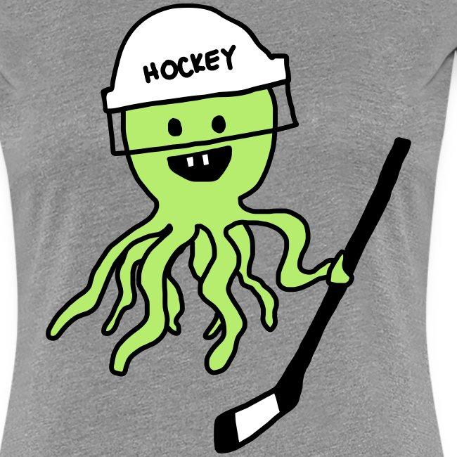 Hockey Octopus Women's T-Shirt