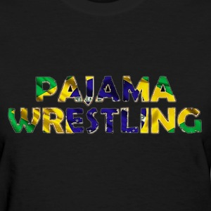 Women's Pajama Wrestling - Women's T-Shirt