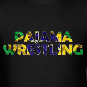 Men's Pajama Wrestling - Men's T-Shirt