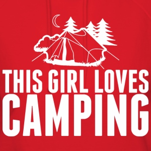 This Girl Loves Camping - Women's Hoodie