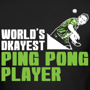 Worlds Okayest Ping Pong Player - Men's Long Sleeve T-Shirt by Next Level