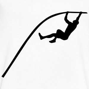 Pole vault - man T-Shirts - Men's V-Neck T-Shirt by Canvas