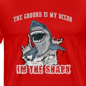 I'm the shark BJJ T-Shirts - Men's Premium T-Shirt