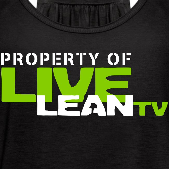 Property of Live Lean TV Women's Tank Top