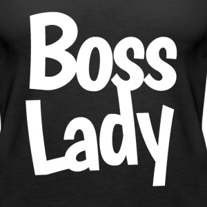 Boss Lady  - Women's Premium Tank Top
