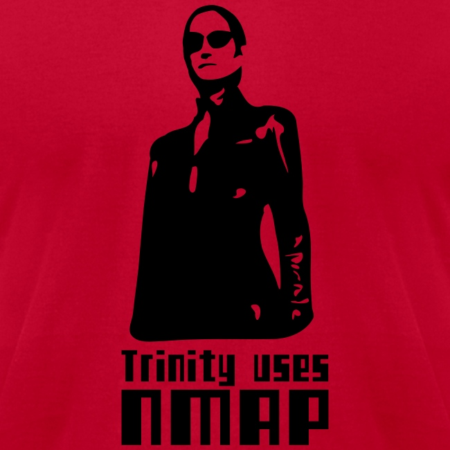 Trinity uses Nmap