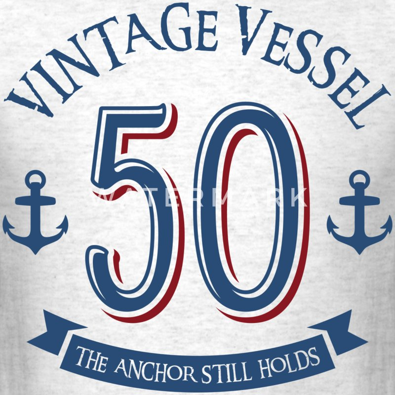 Nautical 50th Birthday T-Shirts - Men's T-Shirt