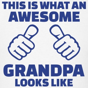 Awesome Grandpa T-Shirts - Men's T-Shirt