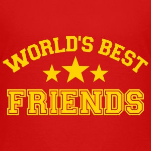 World's best friends Kids' Shirts - Kids' Premium T-Shirt
