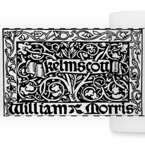 Morris Kelmscott Colophon Accessories - Panoramic Mug