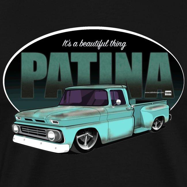 L_Size Patina Stepside Pickup PREMIUM ART Tee