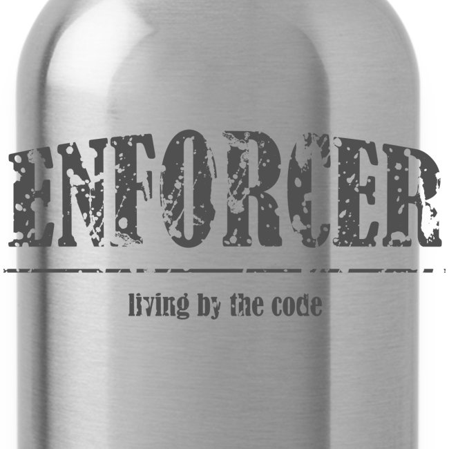 Enforcer-Water Bottle