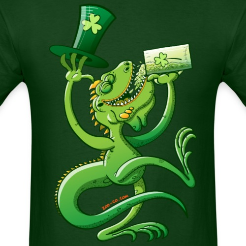 Saint Patrick's Day Iguana
