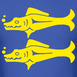 Blue Barracudas - Men's T-Shirt