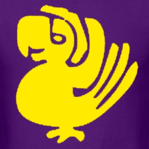 Purple Parrots - Men's T-Shirt
