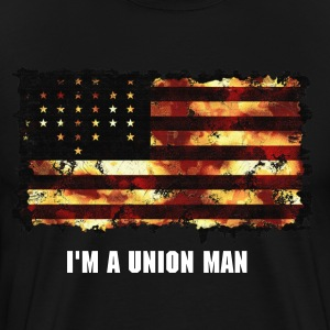 Union Flag  - Men's Premium T-Shirt